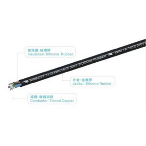 VDEH05SS-F 450/750V 180℃ Non-Braid silicone wire MES0044