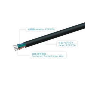 UL1592 300V 200℃  FEP/PFA/PTFE/ETFE wire  MES0054