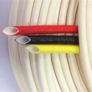 Silicone fiberglass tubing   Tubing and sleeve MES0238