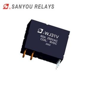 WJ31V  Magnetic holding relay