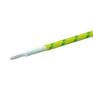 UL3122 300V 200℃  Fiberglass braid silicone wire MES0006