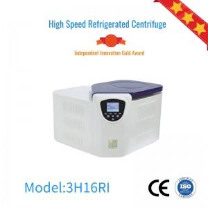 3H16RI Tabletop High-speed refrigerated centrifuge,Lab Centrifuge machine
