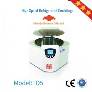 TD5 bench top large capacity PRP laboratory centrifuge