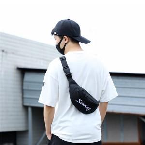 Outdoor mobile phone Bodypack multi-function tide brand single shoulder small sports bag chest bag Oxford cloth backpack diagonal bag model DL-Y226