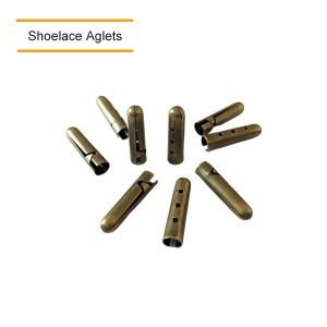 Bronze Shoelace Aglets