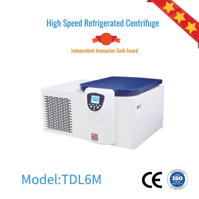 HereXi TDL6M laboratory centrifuge refrigerated centrifuge Featured Image