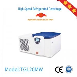 TGL20MW large capacity benchtop centrifuge Refrigerated